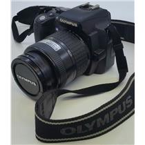 Olympus EVOLT E-500 8.0MP Digital SLR Camera with 14-45mm Lens TESTED & WORKING!