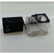 HD 1080P Waterproof Action/Sports Audio/Video Digital Camera and Case