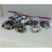 Lot of Phone Charging Cables and Adapters Car and Wall, Lightning and Micro USB