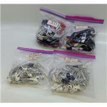 Lot of 57 Corded Earbuds 10x Apple 3.5mm 7x Apple Lightening 40x Non-Apple 3.5mm