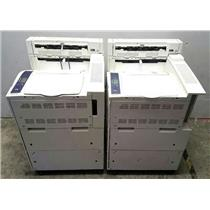 Lot of 2 Xerox Phaser 5550 Printers TESTED & WORKING