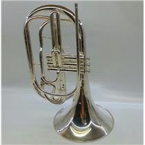 Yamaha YHR-302MS Bb Marching French Horn & Case - No Mouth Piece S/N: 629844