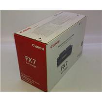 NIB Genuine Canon FX7 Toner Cartridge FOR Laser 700 Fax-L2000 L500 UNOPENED