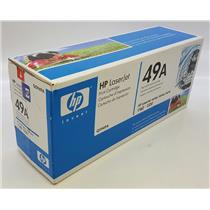 NEW NIB Genuine OEM HP 49A Q5949A Black Toner Cartridge