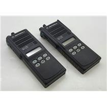 Lot of 2 Motorola MTS 2000 H01UCF6PW1BN 2 Way 800 Mhz Handeld Radio UNTESTED