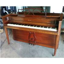 Built By Baldwin Acrosonic Dark Brown Finish Three Pedal 88 Key 560464 Piano