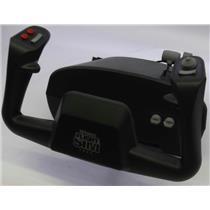 CH Products Flight Sim Yoke USB FSY211U 5-Axis 10-Button Avionics Flight Yoke