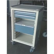 Milcare Herman Miller Company Three Drawer Medical Supply Storage Cart