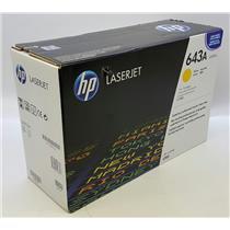 NEW NIB Genuine OEM HP 643A Q5952A Yellow Toner Cartridge