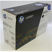 NEW NIB Genuine OEM HP 643A Q5950A Black Toner Cartridge