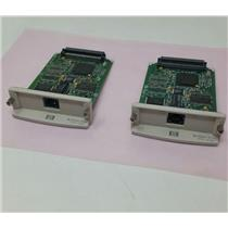 Lot of 2 HP J6057A Print Server Jetdirect 615n 10/100TX Ethernet Card