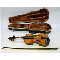Andrew Schroetter 7/8-Size Violin with Case and Bow