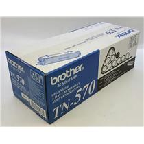 NEW NIB Genuine OEM Brother TN-570 Black Toner Cartridge