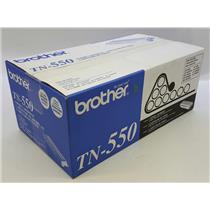 NEW NIB Genuine OEM Brother TN-550 Black Toner Cartridge