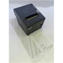 Epson TM-T88IV M129H POS Thermal Receipt Printer W/ Parallel Port WORKING