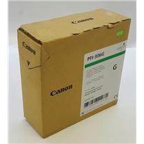NEW NIB Genuine OEM Canon PFI-306G 6664B001 Ink Tank Green Pigment