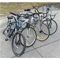 Lot of 5 Bicycles Mixed Types and Brands - LOCAL PICKUP FOR PARTS