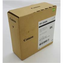 NEW NIB Genuine OEM Canon PFI-306BK 6657B001 Ink Tank Black Pigment