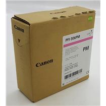 NEW NIB Genuine OEM Canon PFI-306M 6662B001 Ink Tank Photo Magenta Pigment