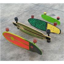 Lot of 4 Cruiser Style Skateboards 1x Santa Cruz 3x Kryptonics - See Description