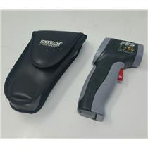 Extech ES EST-65 FLIR Infrared Laser Thermometer Distance:Spot = 8:1 No Battery