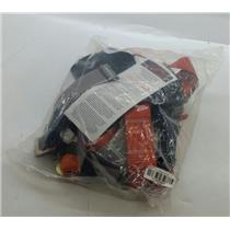 Madaco Tuff Belt Fall Arrest Full Body Harness & Lanyard Combo H-TB201A-16