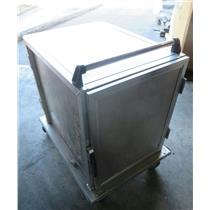 Generic Two Door Food Service Food Tray Catering Transport Cart 38.5 x 28.5 x 41
