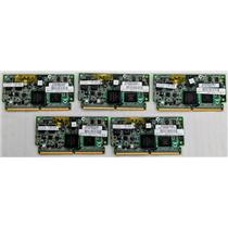 Lot of 5 HP 534916-B21 578882-001 512MB Flash Backed Write Cache