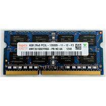 Hynix 4GB PC3L-12800 DDR3L-1600 nonECC Unbuffered SODIMM 1.35V HMT351S6EFR8A-PB
