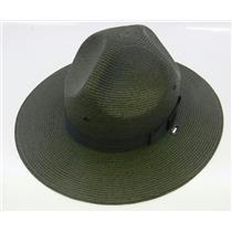 Stratton Straw Campaign Hat 40DB Green Size 6-7/8