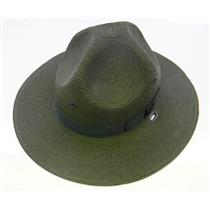 Stratton Straw Campaign Hat 40DB Green Size 7 LO