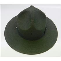 Stratton Straw Campaign Hat 40DB Green Size 7-1/8