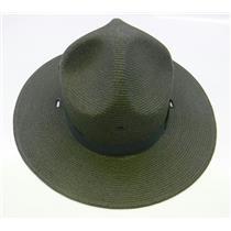 Stratton Straw Campaign Hat 40DB Green Size 7-1/8 XLO