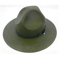 Stratton Straw Campaign Hat 40DB Green Size 7-1/4
