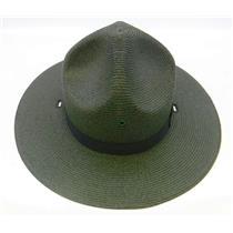 Stratton Straw Campaign Hat 40DB Green Size 7-1/4 LO