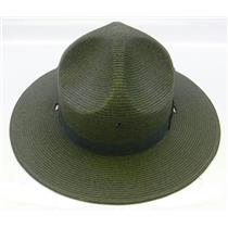 Stratton Straw Campaign Hat 40DB Green Size 7-3/8