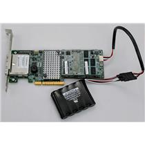 LSI MegaRAID 9285CV-8e 6Gb/s SAS/SATA RAID Controller Refurbished w/ Battery