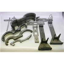 Lot of Spanners and Hydrant Wrenches Various Sizes Configuration