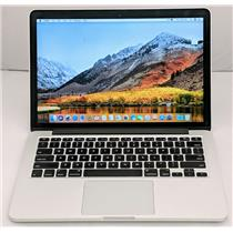"Apple Macbook Pro MF839LL/A 13.3"" i5-5257U 2.7GHz 256GB SSD 8GB OS High Sierra"