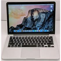 "Apple Macbook Pro MF839LL/A 13.3"" i5-5257U 2.7GHz 128GB SSD 8GB OS X Yosemite"