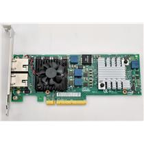 Dell Intel X540-T2 Dual Port RJ-45 10GB NIC PCIe x8 Network Card JM42W