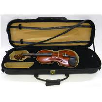 Hans Kroger 335T Violin with Case and Chinrest no Bow