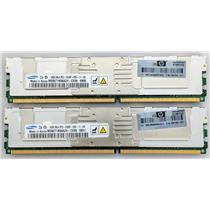 HP Samsung 2x8GB 2Rx4 PC2-5300F RAM ECC Fully Buffered 398709-071 16GB Kit