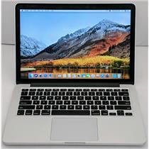 """Apple Macbook Pro MF839LL/A 13.3"""" i5-5257U 2.7GHz 256GB SSD 8GB High Sierra10.13"""