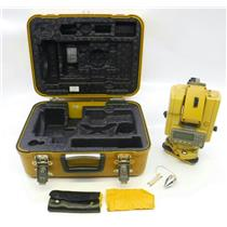 Topcon GTS-313 Total Station Surveying Equipment W/ Case POWER ON TEST ONLY