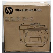 Brand New HP OfficeJet Pro 8730 Wireless All-in-One Printer D9L20A