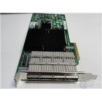 NetApp X2065A-R6 SAS HBA 4-PORT 3/6 GB QSFP PCIe Controller 111-00341
