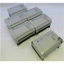 Lot of 6 Allen Bradley MicroLogix 1500 Base Units W/ Processor Units UNTESTED
