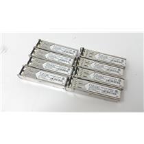 Lot of 8 Finisar 4GB 850 nm SFP, SWL TRANSCEIVER FTLF8524P2BNV