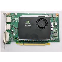 Nvidia Dell Quadro FX580 PCI-e 512MB Video Card R784K PCIe DVI 2x Display Ports